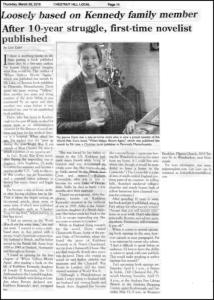 Interview with Pat in Chestnut Hill Daily Local